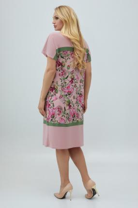 Сукня Ельза рожеве 2847