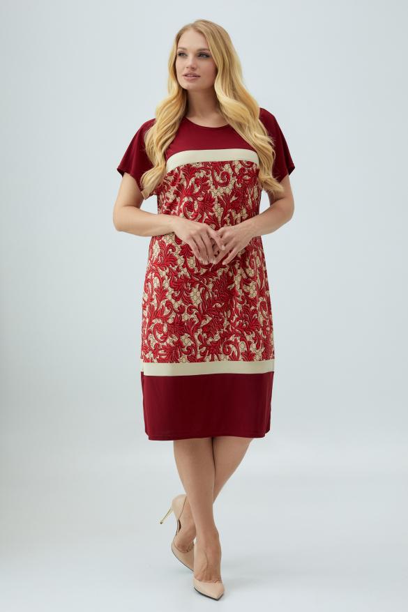 Сукня марсала Ельза
