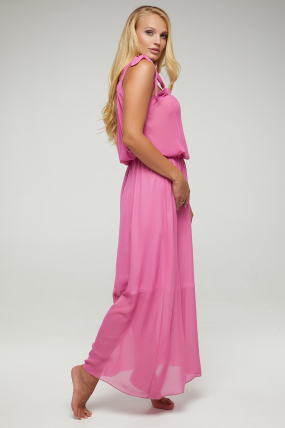 Сарафан розовый Глория 2885
