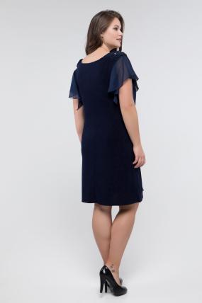 Платье Валенсия синее 2915