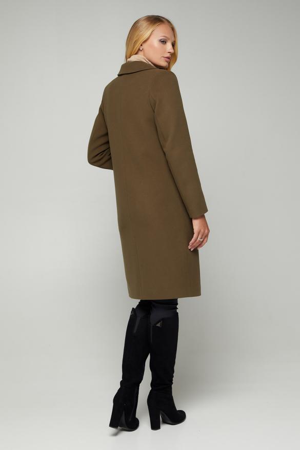 Пальто Мадем хаки