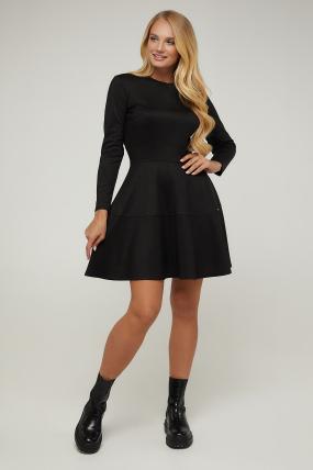 Платье черное Тая 2937