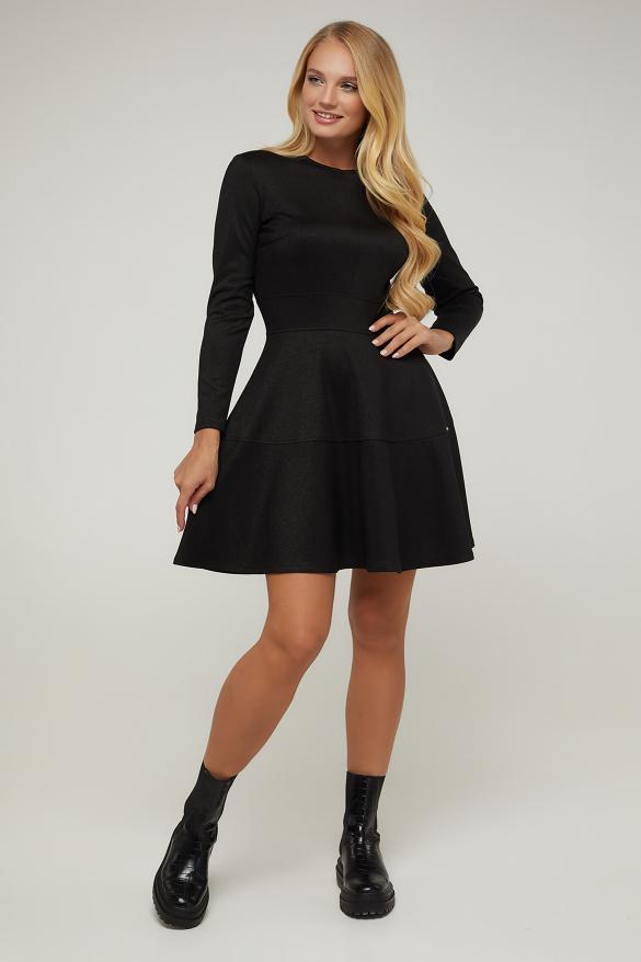 Платье черное Тая