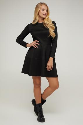 Платье черное Тая 2938
