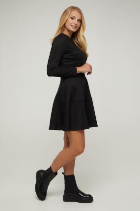 Платье черное Тая 2939