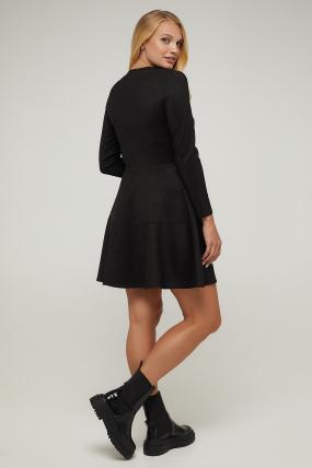 Платье черное Тая 2940