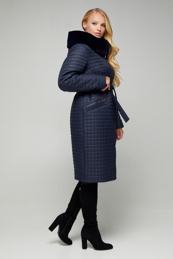 Куртка В 572 синя