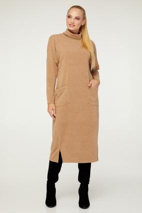 Платье Нимфа бежевое 3022