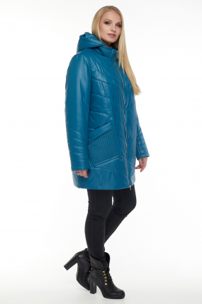 Куртка бирюза В 33 3065