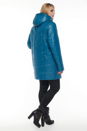 Куртка бирюза В 33 3066