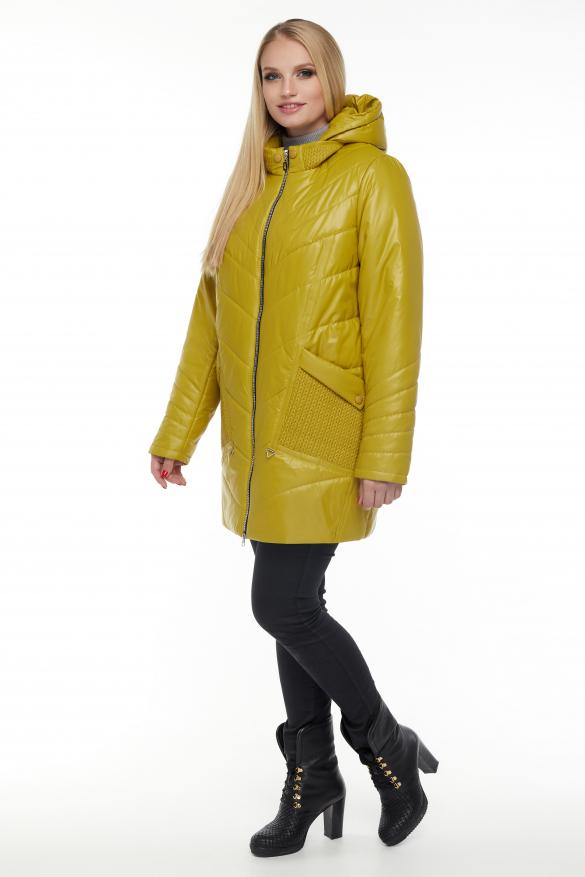 Куртка горчица В 33