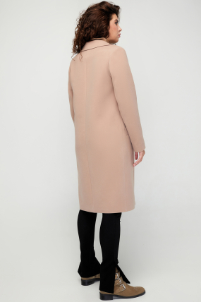 Пальто Модем кэмел 3078