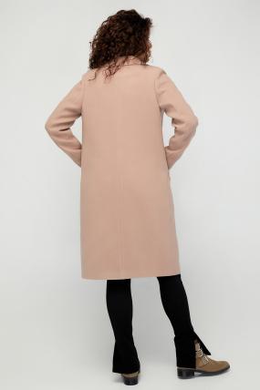 Пальто Модем кэмел 3079