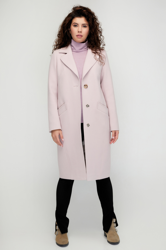 Пальто Модем рожеве