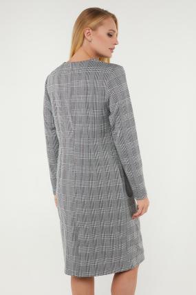 Сукня Флора сіра 3129