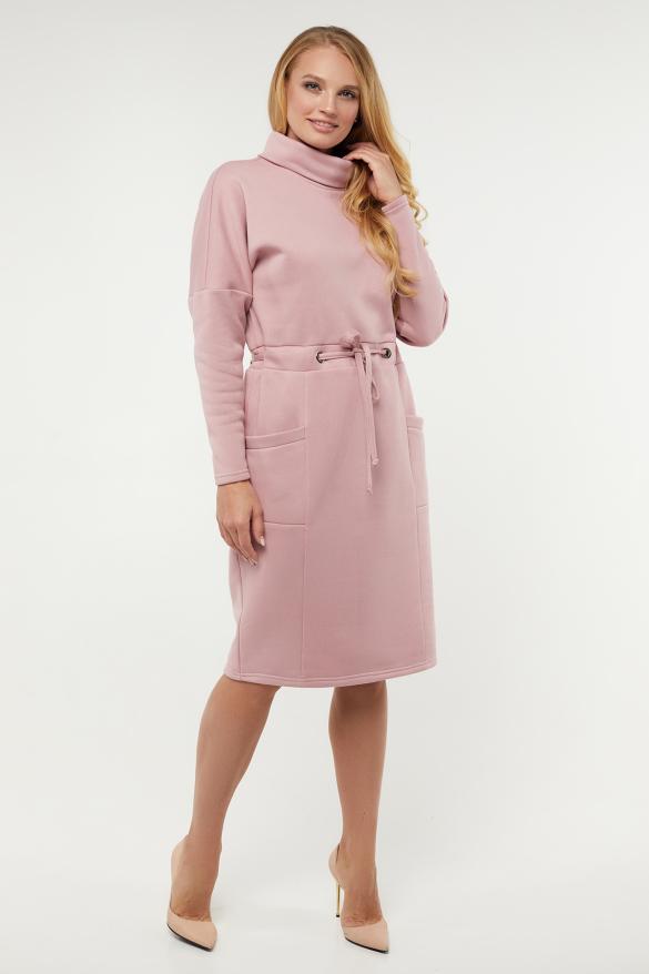 Платье Рая розовое