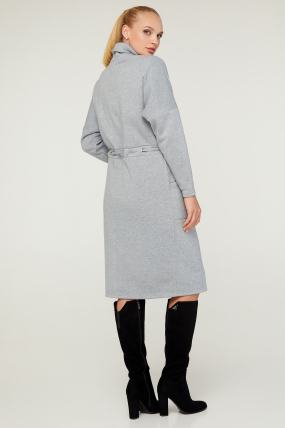Платье Рая серое 3149