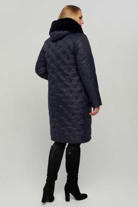 Куртка В 547 синяя
