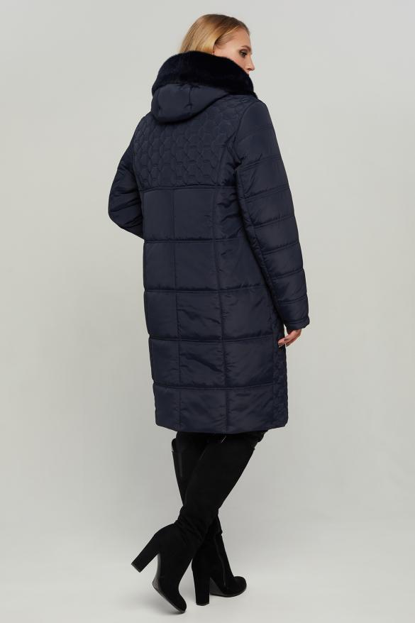 Куртка В 77 синяя ЗИМА
