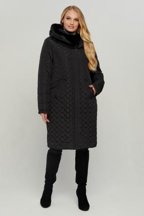 Куртка В 77 чорна зима