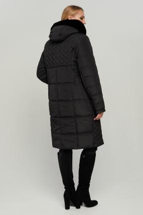 Куртка В 77 черная зима 3165