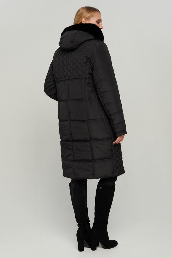 Куртка В 77 черная зима