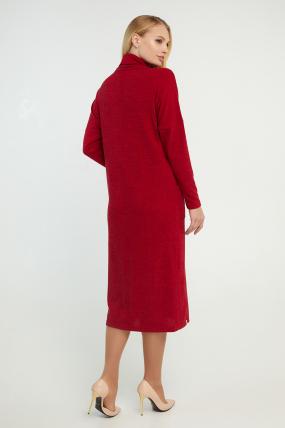 Платье Нимфа красное 3175