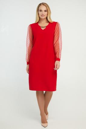 Платье Миранда красное