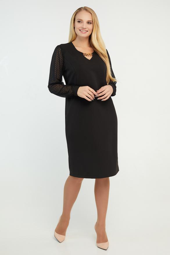 Платье Миранда черное