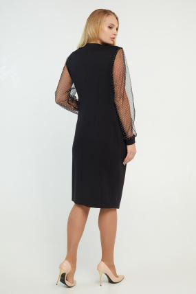 Платье Ликия черное 3194