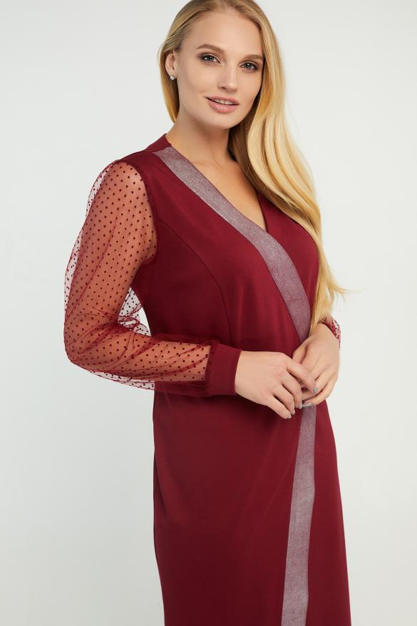 Сукня Лікія вишнева