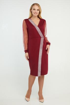Сукня Лікія вишнева 3196