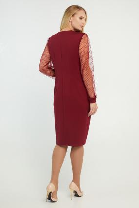 Сукня Лікія вишнева 3197
