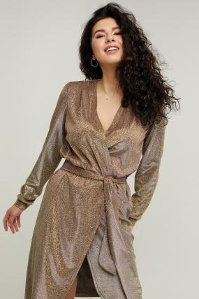 Платье Асти золотое