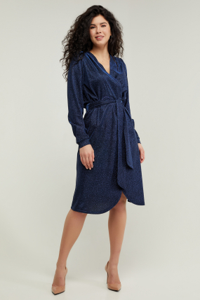 Платье Асти синее 3214