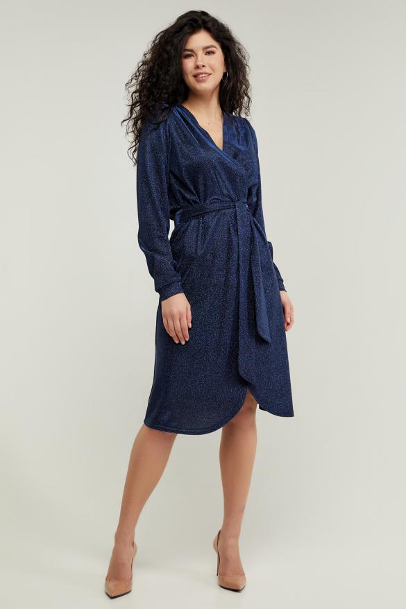 Платье Асти синее