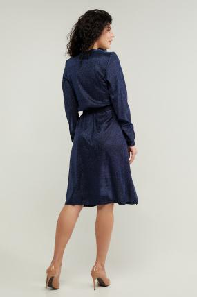 Платье Асти синее 3216