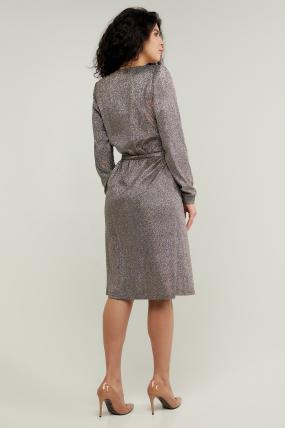 Платье Асти серебристое 3220