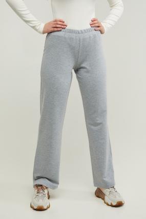 Трикотажные спортивные брюки Туя серые