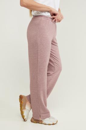 Трикотажні спортивні штани Туя пурпурні 3291