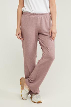 Трикотажні спортивні штани Туя пурпурні 3292