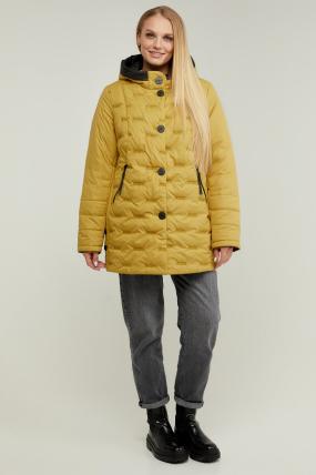 Куртка В 128 горчица