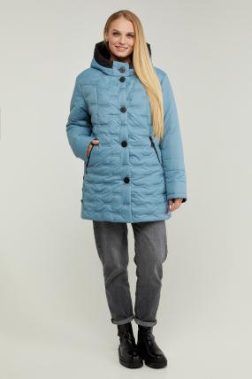 Куртка В 128 голубая