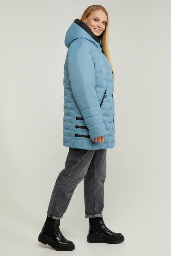 Куртка В 128 блакитна
