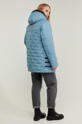 Куртка В 128 блакитна 3299