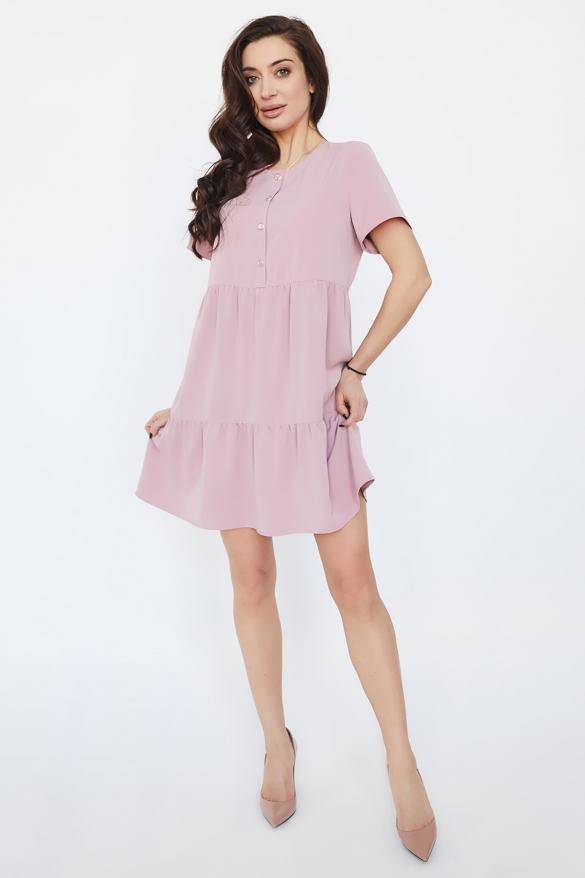 Платье Ремита розовое