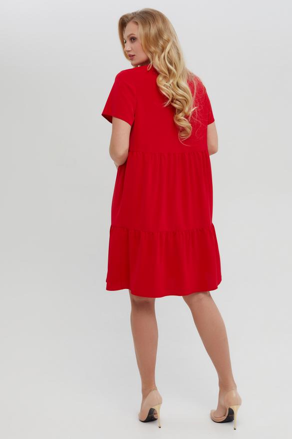 Платье Ремита красное
