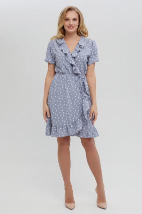 Платье Монако голубое 3319