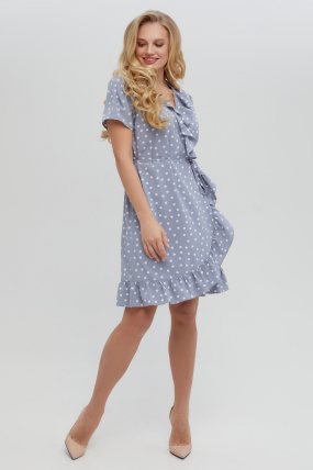 Платье Монако голубое 3320