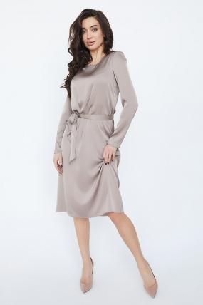 Платье Бьянко темно-бежевое 3334